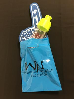 "Customer photo from Ashlee of our Oxo-Biodegradable Grab Bag - 12"" x 9"""