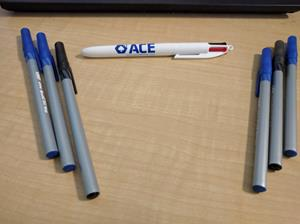 Customer photo from Dan of our Bic 4-In-1 Pen