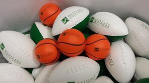 Customer photo from Brandice of our Stress Reliever - Basketball - 24 hr