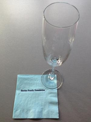 Customer photo from Jennifer of our Colorware Beverage Napkin - 2-ply - Color - Low Qty