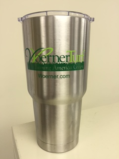 Customer photo from Jim of our Glacier Stainless Vacuum Travel Tumbler - 30 oz.