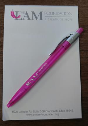 Customer photo from Kerri of our Simplistic Pen - Translucent - Silver