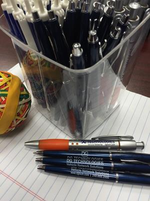 Customer photo from Meghan of our Primetime Pen - Metallic