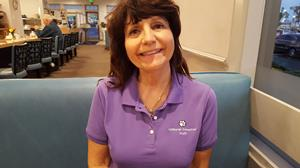 Customer photo from Patti of our Harriton 5.6 oz. Easy Blend Polo - Ladies'