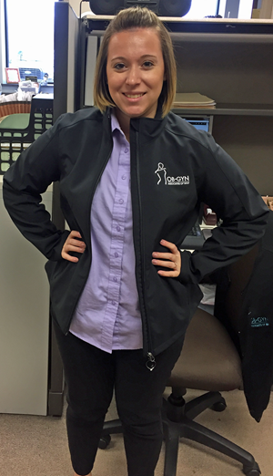 Customer photo from Kristen of our Crossland Soft Shell Jacket - Ladies'