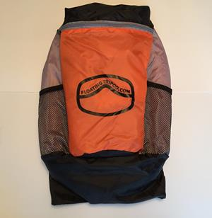 Customer photo from Brian of our Trek Cinch Top Backpack