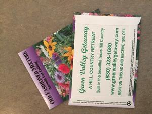 Customer photo from Linda of our Standard Series Seed Packet - Old Fashioned Mix