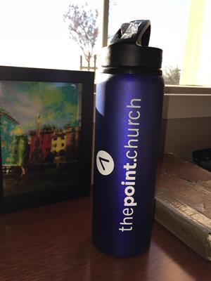 Customer photo from Daniel of our h2go Allure Sport Bottle - 28 oz.