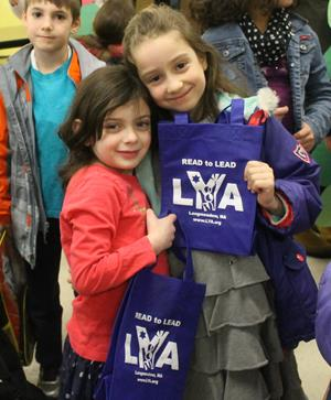 "Customer image from Rochel Leah of our Celebration Shopping Tote Bag - 10"" x 8"""