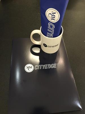 Customer photo from Ryan of our Value White Coffee Mug - 11 oz.