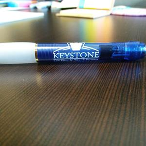 Customer photo from Amelia of our Paper Mate Breeze Gel Pen - Translucent