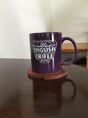 Customer photo from Kappy of our Value Color Coffee Mug - 11 oz.