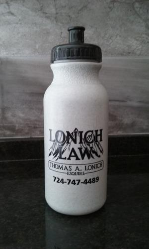 Customer photo from Tom of our Sport Bottle with Push Pull Lid - 20 oz. - Colors