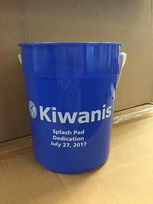 Customer photo from Cindy of our Bucket with Handle – 84 oz.