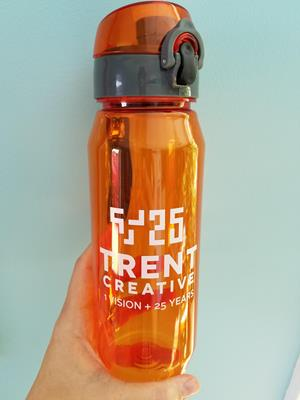 Customer photo from Marilyn of our Trekker Tritan Sport Bottle - 28 oz.