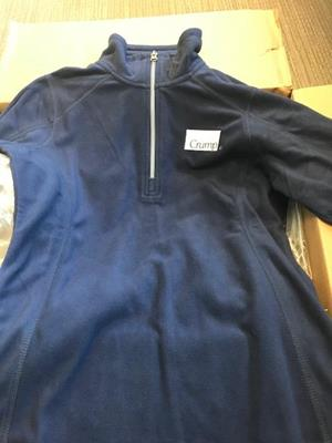 Customer photo from Shanna of our Microfleece 1/2-Zip Pullover - Men's