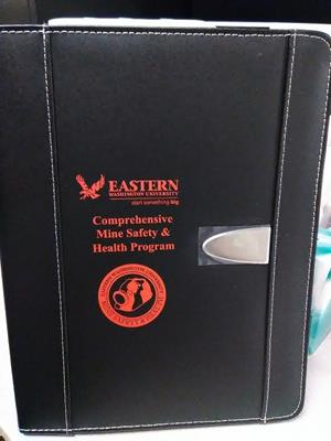 Customer photo from Daniel of our Eclipse Bonded Leather Portfolio
