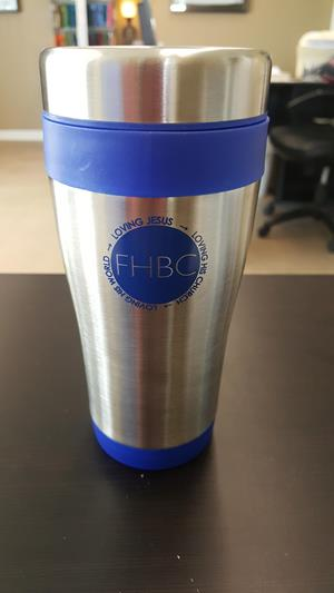 Customer photo from Johnathan of our Seaside Travel Mug - 15 oz.