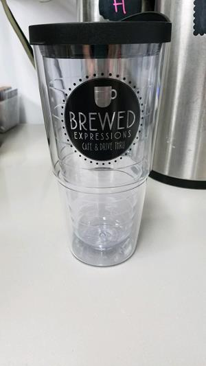 Customer photo from Frank of our Orbit Tumbler - 24 oz.