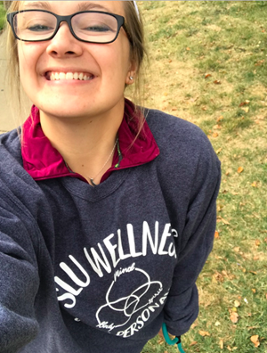 Customer photo from Emma of our Jerzees NuBlend Crewneck Sweatshirt - Screen