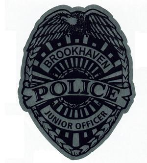 Customer photo from Shauntinae of our Lapel Sticker by the Roll - Junior Officer Badge