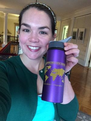 Customer photo from Courtney of our Sip & Flip Aluminum Bottle - 24 oz.