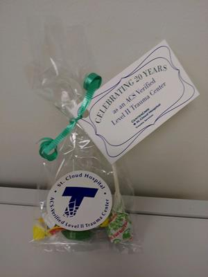 """Customer photo from Tami of our Value Sticker by the Roll - Circle - 2"""""""