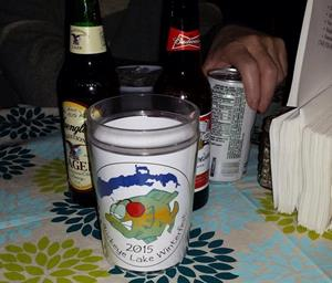 Customer photo from Dianne of our Full Color Smooth Move Insulated Travel Tumbler - 16 oz.