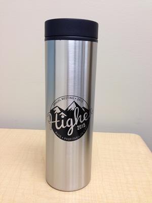 Customer photo from Julie of our Custom Montara Travel Tumbler - 16 oz.